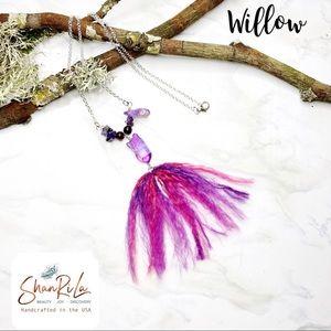 NWT ShanRiLa Willow Boho Pendant Necklace
